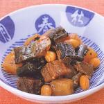 ミガキと大豆の佃煮