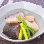 ミガキニシンと高野豆腐の炊き合わせ