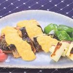 ミガキニシンのチーズみそ田楽